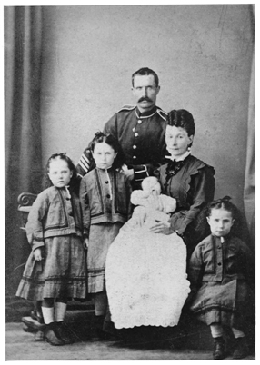 Joseph Hume with family -1874
